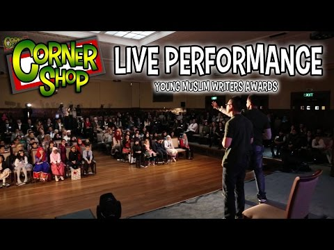 CORNER SHOP | LIVE COMEDY SKETCH - Young Muslim Writers Awards