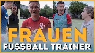Praktikum als Frauenfussball Trainer | Ein Aaron für alle Fälle