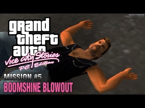 GTA Vice City Stories: PC Edition - Mission #5 - Boomshine Blowout (HD)