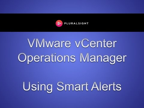 Using Smart Alerts in VMware vCenter Operations Manager