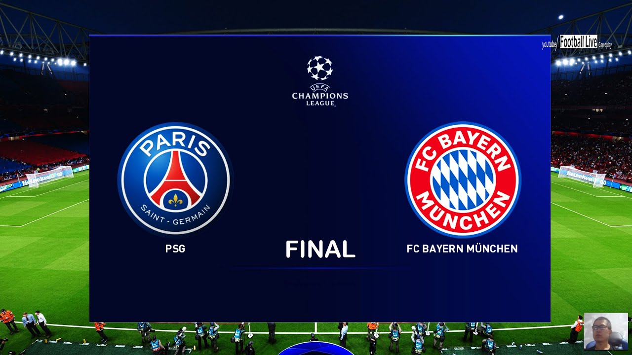 Pes 2020 Psg Vs Bayern Munich Final Uefa Champions League Ucl Neymar Mbappe Vs Lewandowski Youtube