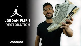 Vick Almighty Restores Air Jordan Flip 3 With Reshoevn8r!