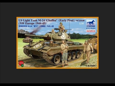 Bronco CB35069 1/35 M-24 Chaffee Early Production
