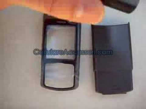 NOKIA N70 ORIGINAL COVER ORIGINALE BLACK NERO MUSIC EDITION
