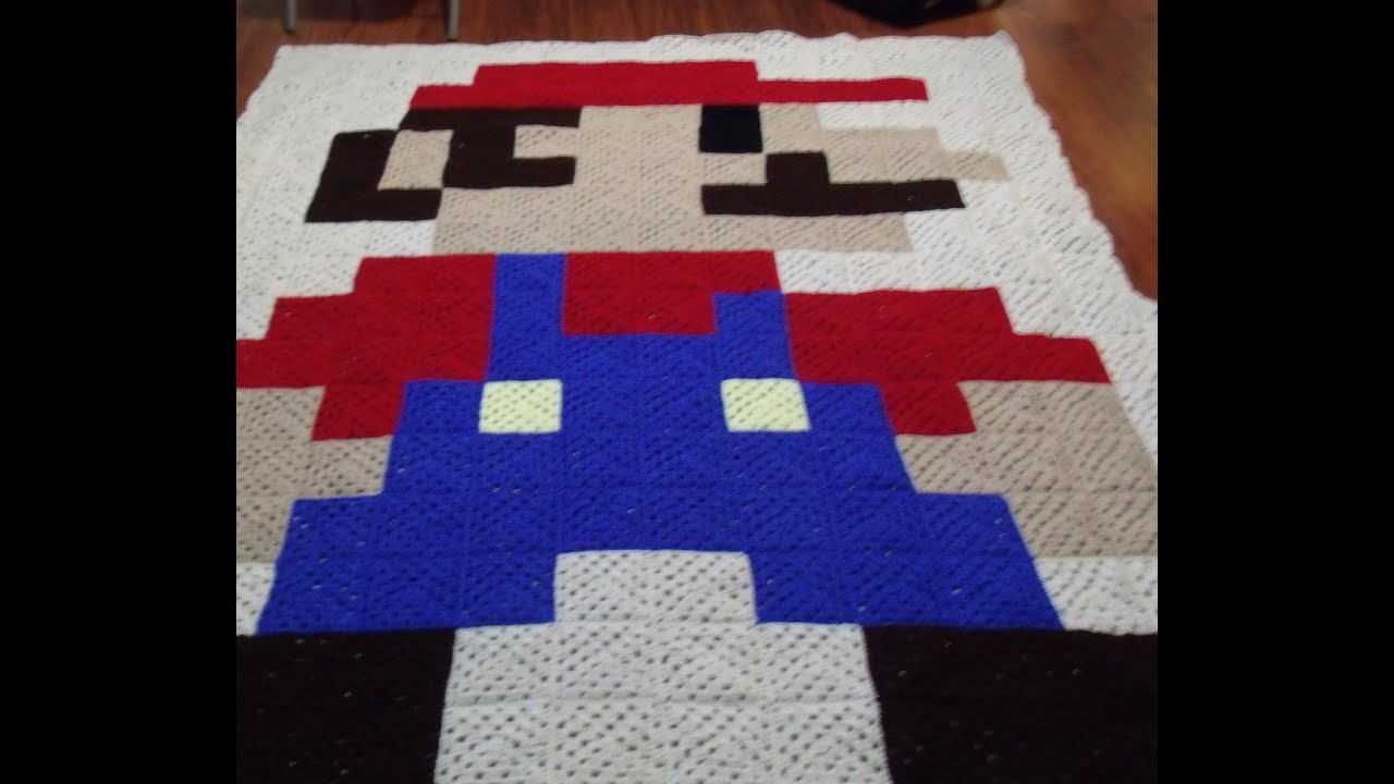How to make a 8 bit blanket from start to finish youtube bankloansurffo Images