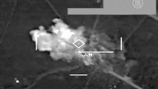 США обнародовали видео с авиаударами по ИГИЛ (новости)