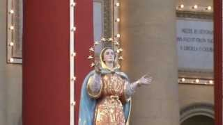 Malta:Feast of the Assumption of Mary Mosta 2012