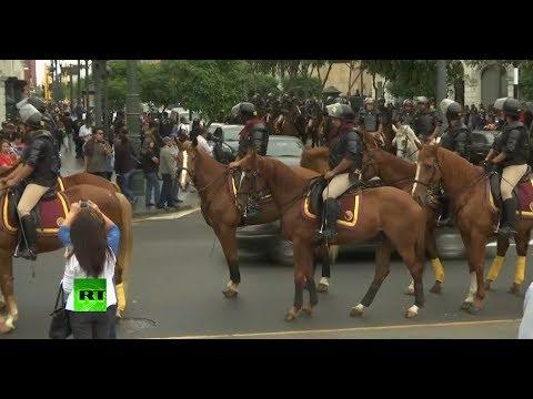 Marcha en Lima contra el indulto otorgado a Alberto Fujimori