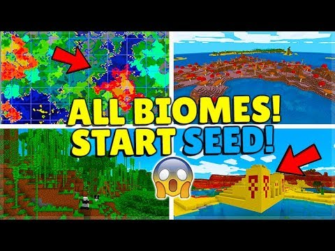 THIS SEED HAS ALL BIOMES WITHIN 4,000 BLOCKS! Minecraft Seed (MCPE,Xbox,Switch,PC)