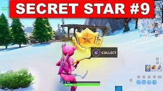 WEEK 9 SECRET BATTLE STAR LOCATION GUIDE! - Fortnite Find the Secret Battle Star in Loading Screen 9