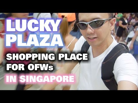 Lucky Plaza Singapore | A Shopping Place for OFWs