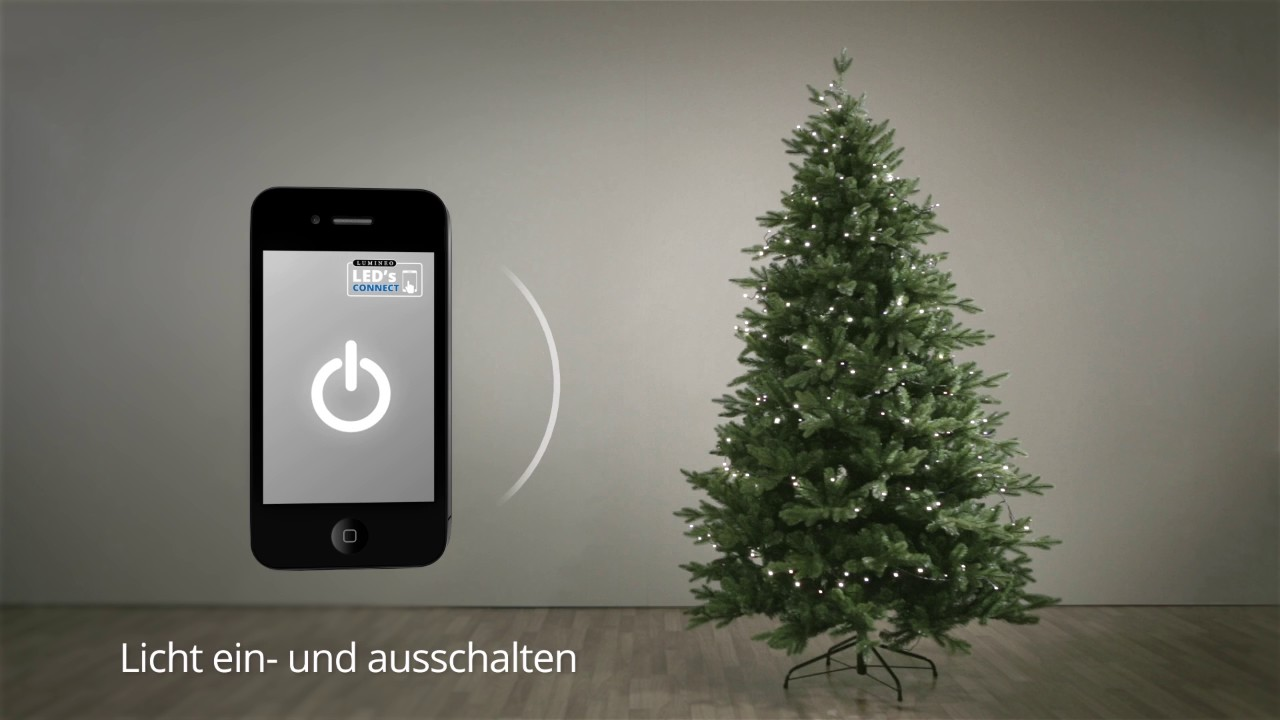 app controlled christmas lights