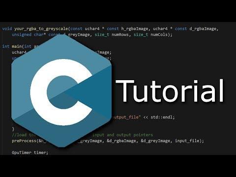 Download Youtube: Programmieren in C Tutorial #10 - Array Initialisieren
