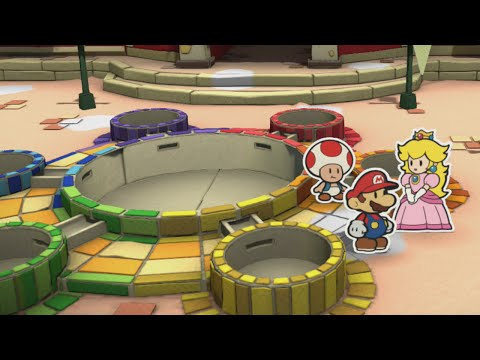 Port Prisma (Mini Star 1), Intro - Paper Mario: Color Splash Walkthrough
