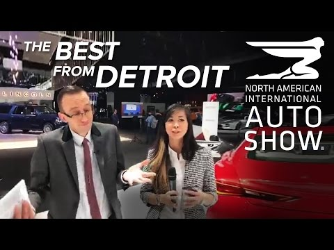 The Best Cars from the 2017 Detroit Auto Show