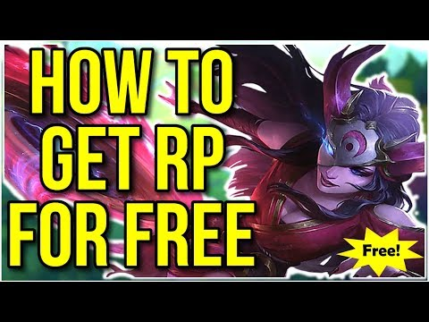 How To Get Rp For Free | Buy Any Skin And Champion For No Cost - League Of Legends