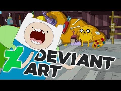 Adventure Time's Deviantart HORROR