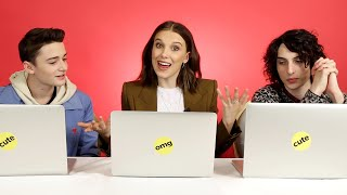 "The ""Stranger Things"" Cast Finds Out Which Characters They Really Are dinle ve mp3 indir"
