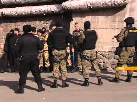 Стрельба и раненые: что натворил Правый сектор в центре Киева