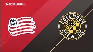 HIGHLIGHTS: New England Revolution vs. Columbus Crew SC | May 19, 2018