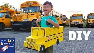 DIY School Bus For Kids | Learning School Buses For kids