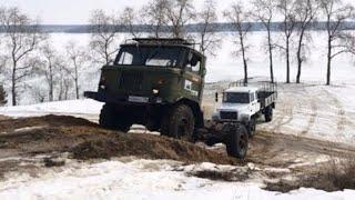 ЧТО может Новый ГАЗ САДКО против ГАЗ-66? Егерь или #Шишига? Ч.1