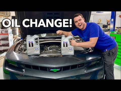 How To Change Your Oil - The Secret!