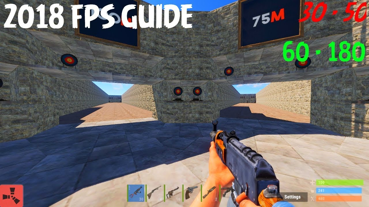 HOW TO DOUBLE YOUR FPS IN RUST 2019!!! (WORKING March )