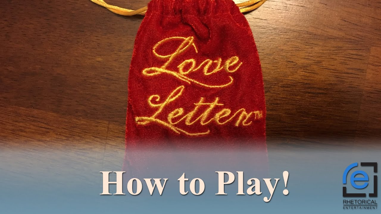 how to play love letter how to play letter 43271