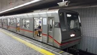 大阪メトロ 21系第13編成 千里中央行き 北花田発車