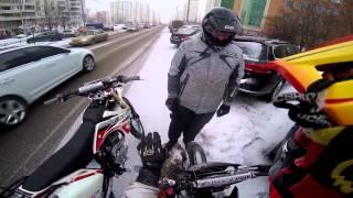 \RGD/ Покатушки/Падение сразу 3х мотоциклов/Неудачная поездка на карьер/Порванный тросик сцепления