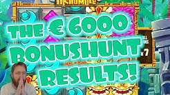 The € 6000 Bonushunt results!