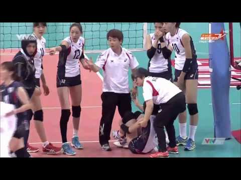 AVC Asian Women Volleyball Championship 2014[Semi-Finals]:Kazakhstan Vs South Korea-2