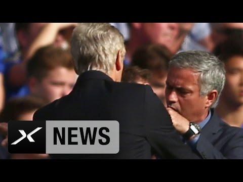 Arsene Wenger Vs. Jose Mourinho Geht In Die Nächste Runde | FC Arsenal - FC Chelsea