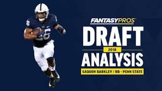 Saquon Barkley 2018 NFL Draft Analysis