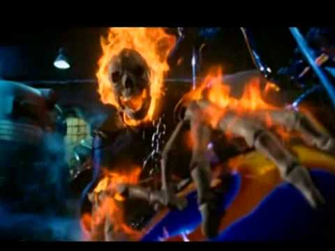 """- Bad to the bone  with """"the ghost rider"""""""