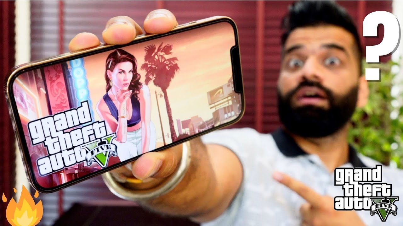 GTA V On Mobile In India - The Future Is Here!🔥🔥🔥