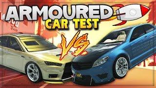GTA 5 DLC Update! New Armoured Cars Crash Test, Bomb & Bullet Proof Cars (GTA 5 ONLINE Gameplay)