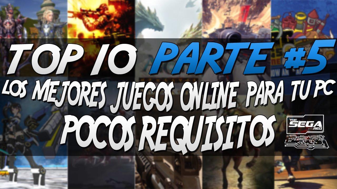 Top 10 5 Los Mejores Juegos Online Para Pc De Pocos Requisitos