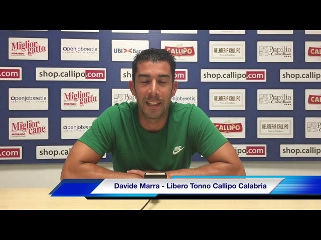 #SuperLega, Davide Marra: