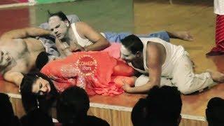 Qaiser Piya and Nida Chaudhry Stage Drama Manchali Nida Comedy Clip 2019