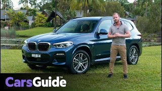 BMW X3 2018 review: first drive video