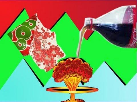 Pop rocks and Soda Experiment!