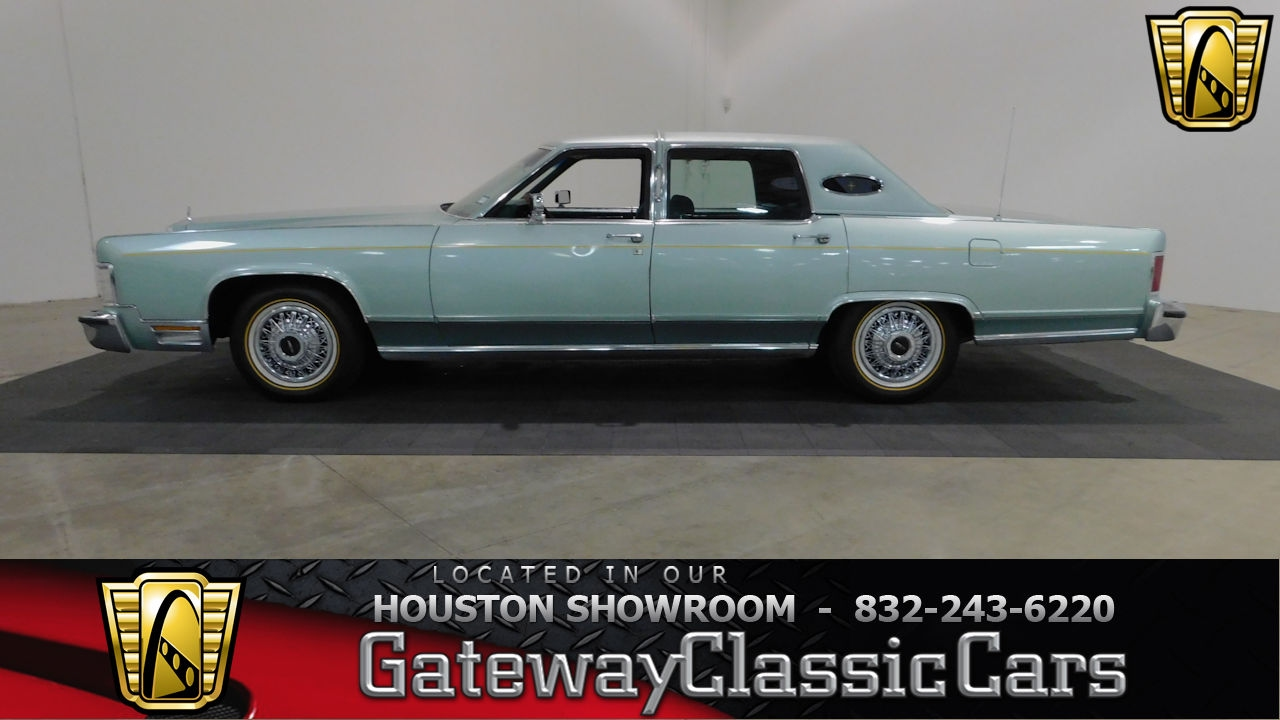 1978 Lincoln Continental Town Car Gatway Classic Cars #626 Houston ...