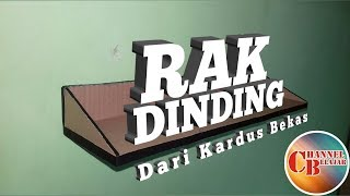Video Membuat Rak Dinding | dari kardus bekas download MP3, 3GP, MP4, WEBM, AVI, FLV April 2018