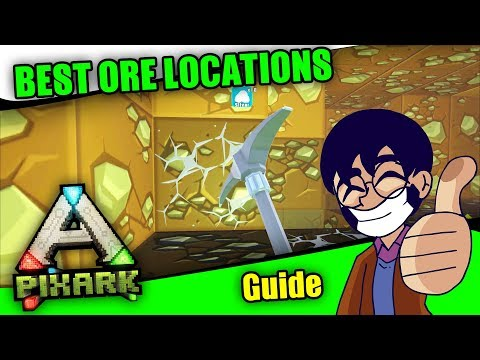 ⛏ PixArk Guide: ORE - Where To Find Them! Hundreds Of Them!