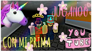 SPECIAL INVITE/PLAYING WITH MY ROBLOX PRIMA//SOFI