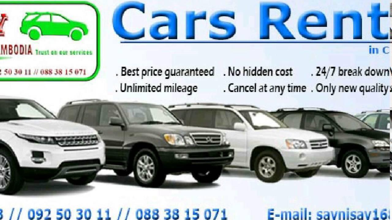 CARS RENTAL IN CAMBODIA