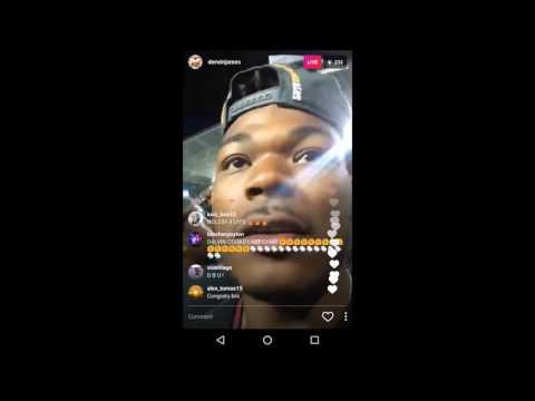 Derwin James Instagram Live After Orange Bowl 2016