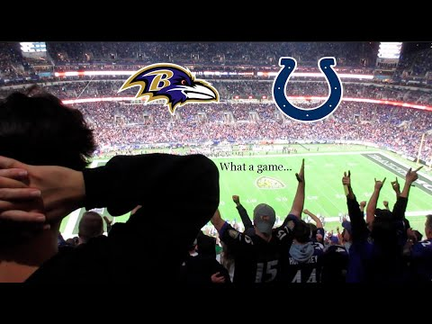 Prime Time Bangers- RAVENS COLTS FAN REACTIONS!!! WE WENT TO THE GAME, WITNESS HISTORY!!!